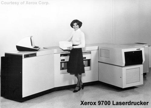 Xerox 9700 - Einer der ersten Laserdrucker
