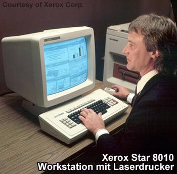 Xerox Star 8010 - Wegweisende GUI-Workstation mit Laserdrucker