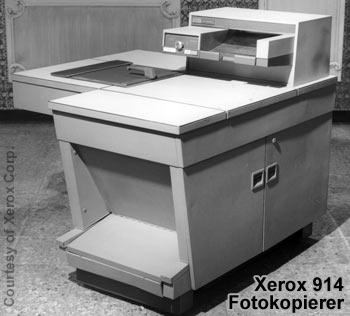 Der Xerox 914 - Der erste moderne Fotokopierer