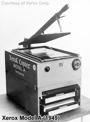 Der Xerox Model A - Der allererste Fotokopierer